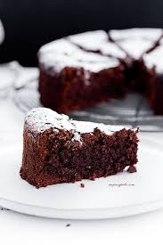 Rustic Chocolate Cake With Walnuts And Rum