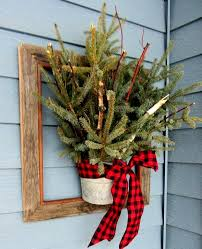 Christmas Decorations Outdoor Awesome 40 Fy Rustic Decor Ideas