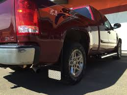 DSI Automotive - Truck Hardware Gatorback Mud Flaps - Brite Tread Truck Specialties Traffic Qa Arent Suvs And Pickups Supposed To Be Equipped With Mudflaps Simpson Toolbox Mud Fpssplash Guards For Trucks Factory Wheel Steps Truck Hdware Gatorback Chevy Flaps Sharptruckcom My Buddy Got Pulled Over In Montana Not Having Mudflaps So We Minimizer Semi Fast Flaps Dodge Diesel Resource Forums For Lifted And 24 X 30 Candocowgirl Dsi Automotive Black Bowtie Cr Raptor