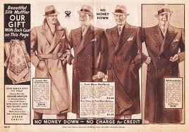 Mens Coats Advertisement 1933