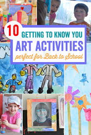 Back To School Time Is Filled With Great Art Opportunities Tons Of Easy Activities