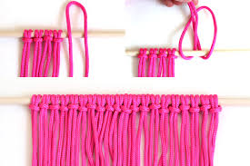 DIY Macrame Wall Hanging Crafts Unleashed 2 Step