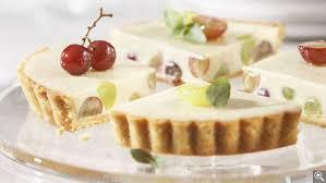 dessert aux raisins frais tarte crémeuse aux raisins frais sur croûte d amandes