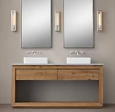 Restoration Hardware Mirrored Bath Accessories by All Vanities U0026 Sinks Rh