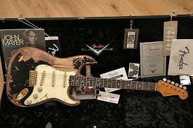 Fender Custom Shop Stratocaster JOHN MAYER Edicion Limitada Negro One Masterbuilt