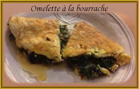bourrache cuisine recette de cuisine omelette à la bourrache chezmamielucette