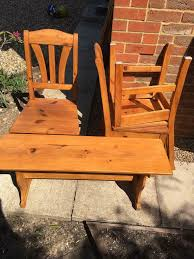 Pine Chairs And Pine Bench | In Canterbury, Kent | Gumtree Canterbury Solid Hardwood Extending Ding Set Julian Bowen Mahogany With 6 Chairs Garden Fniture 4 Seat Folding Patio Table Wood House Architecture Design Mark Harris Oak Black Leather Pilgrims Chair The Parson Furnishings Form Pinterest 400 X Vintage Wooden Event Hire In Vitrine Enchanting Lucca Glass Sonoma Gloss And Java Argos Primo Exciting