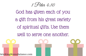 26 1 Peter 410 God Has Given Each Of You A