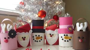 Toilet Paper Christmas Crafts