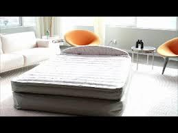 aerobed 18 queen air mattress with headboard design video gallery