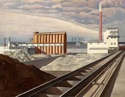 Charles Sheeler American Precisionism Modernism Classic Landscape 1921 Or 1931