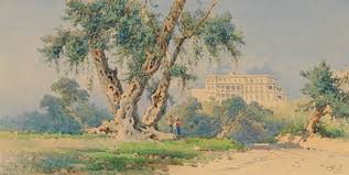 100 Angelos Landscape File Giallinas Achilleion 1895jpg Wikimedia Commons