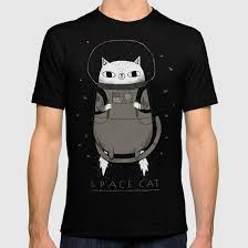 cat t shirts space cat t shirt by louisroskosch society6