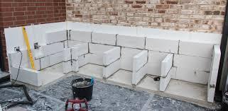 projekt outdoorküche teil 2 die grundmauern werden
