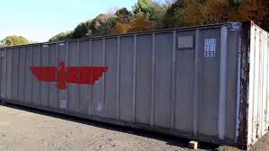 100 Shipping Containers 40 Vintage Aluminum Container Made In 1981 In Japan YouTube