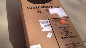 South Shore Libra Collection Dresser by South Shore Changing Table Unboxing Youtube