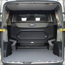 Rear View Of The Load Space Showing Extended Underneath Front Cab