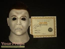Halloween H20 Mask by Halloween Resurrection Brad Loree Ssn H8 Mask Replica Prop