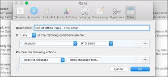 absence bureau comment définir une réponse d absence du bureau dans apple mail