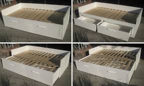 Ikea Brimnes Bed Instructions by Ikea Brimnes Bed Double With Luroy Slats Downgila Com Full Revie