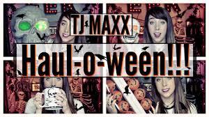 Tj Maxx Halloween by Halloween Happy Hauloween Tj Maxx Halloween Youtube