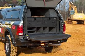 Slide Out Pickup Bed Storage Solutions