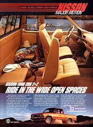 100 Vintage Truck Magazine 1985 Nissan King Cab Ad