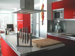 acheter plan de travail cuisine cuisine laquée brillant et plans de travail blanc et acier