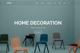 100 New Design Home Decoration 24 Best Responsive Interior Website Templates 2019