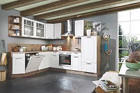landhaus l küche weiß eiche