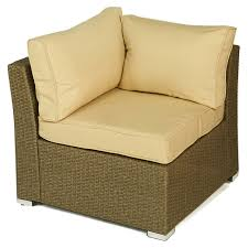 Sears Outdoor Sectional Sofa by Thy Hom Jicaro 5 Piece Outdoor Wicker Sectional Sofa Set Hayneedle