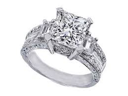 Vintage Princess Cut Engagement Rings Simple Jewellery Style With Innovation Yourself 2