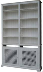 Ebay Uk China Cabinets by White Painted Bookcase 8ft Tall Heavy Duty Shelving Unit With