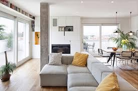 Modern And Inspiring Interior Displaying Concrete Pillars By Studiomobile