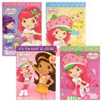 Bulk Strawberry Shortcake Giant Coloring Books 112 Pages At DollarTree