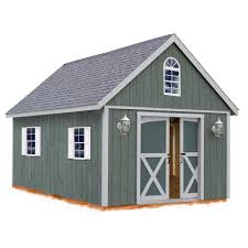 12x16 Wood Shed Material List by Best Barns Belmont 12 Ft X 16 Ft Wood Storage Shed Kit