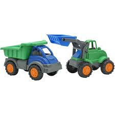 100 Big Toy Dump Truck American Plastic S Gigantic Color May Vary Walmartcom
