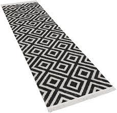 läufer poco 821 paco home rechteckig höhe 7 mm teppich läufer gewebt rauten design mit fransen in und outdoor geeignet kaufen otto