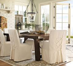1 Pottery Barn Dining Room Chair Slipcovers House Decorative 16