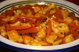 recette poulet curry jaune au lait de coco 750g