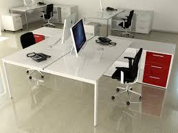bureau 2 personnes bureaux bench contemporain blanc achat bureaux bench