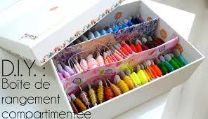 tutoriel d i y comment faire une boîte compartimentée