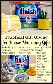 Practical Gift Giving House Warming Ideas