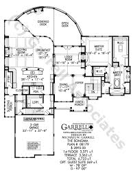 Sonoma House Plan 08179 1st Floor