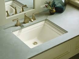 Kohler Overmount Bathroom Sinks by Unusual Kohler Bathroom Sinks Sink Bath Canada Undermount Home