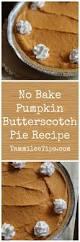 Bake Pumpkin For Pies by No Bake Pumpkin Butterscotch Pie Recipe