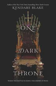 One Dark Throne Three Crowns Series 2