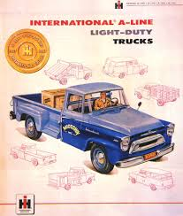 American Automobile Advertising Published By International In 1957