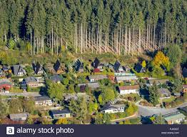 100 Forest House Apartments Aerial View Apartments Gabled House On The Edge Of The