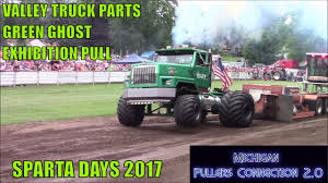 100 Valley Truck Parts VALLEY TRUCK PARTS GREEN GHOST EXHIBITION PULL W CATASTROPHIC